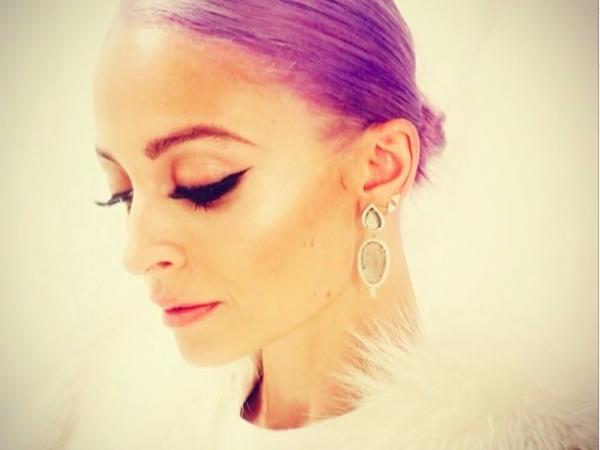The (Moisturizing) Scoop On Nicole Richie's Purple Hair