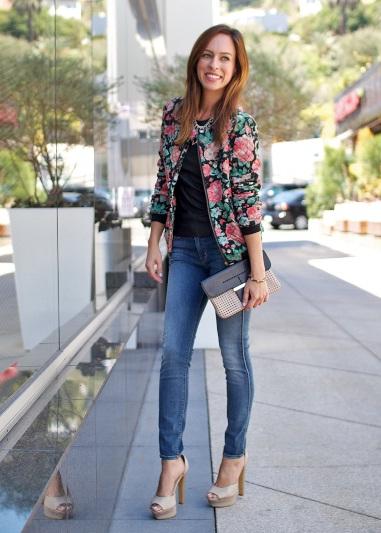 Sydne Summer Sydne Style Fashion Blogger Bomber Jacket Glamazons Blog Glamazons Blog