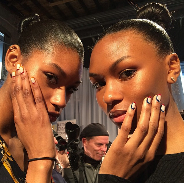 Tracy-Reese-Fall-2015-Collection-Backstage-Sally-Hansen-Complete-Salon-Manicure-NYFW-Beauty-Glamazonsblog