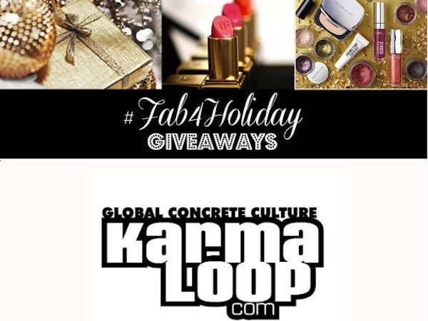 #Fab4Holiday Day 25: Win a $250 Gift Card to Karmaloop!