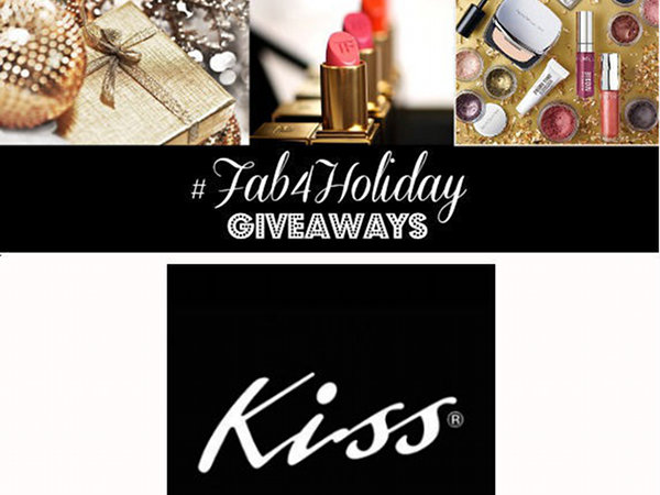 #Fab4Holiday Giveaway Day 8: 1 of 4 Sets of Kiss Hair, Lash and Nail Products!