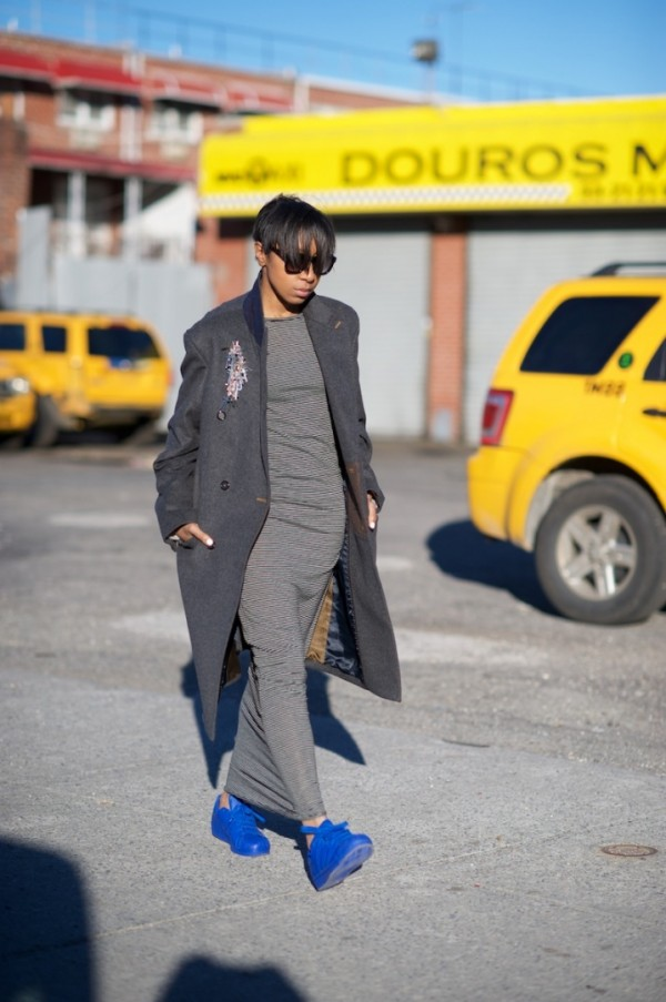 Where-Did-You-Get-That-Cobalt-Blue-Sneakers-Maxi-Dress-Coat-Fashion-Trend-Glamazonsblog