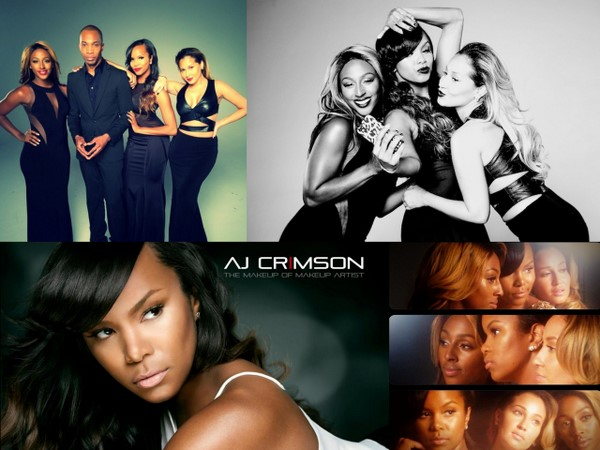 FIRST LOOK! A.J. Crimson Makeup Ad featuring Letoya Luckett, Adrienne Bailon and Alexandra Burke