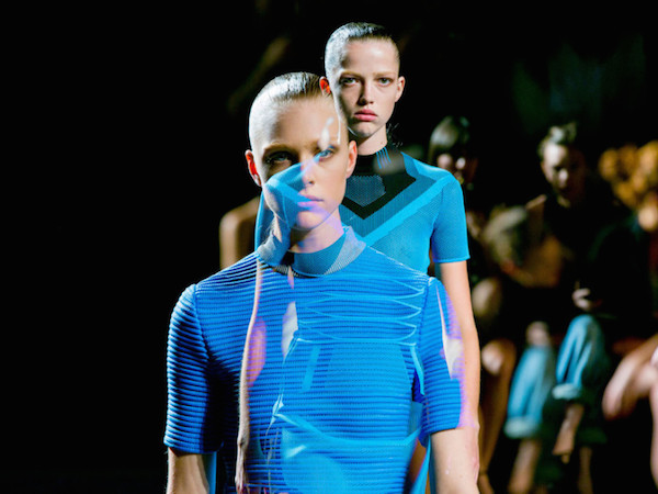 #NYFW: Alexander Wang Gives Sporty Cool and Runway Gym Hair for Spring 2015