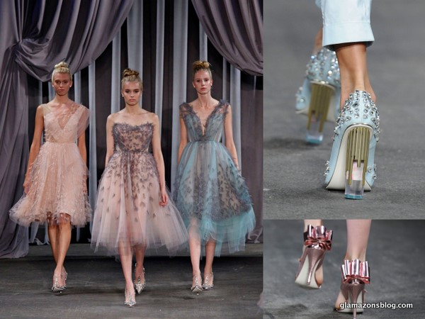 #NYFW: Christian Siriano Spring 2013 and His Amazing Sparkly Shoes for Payless