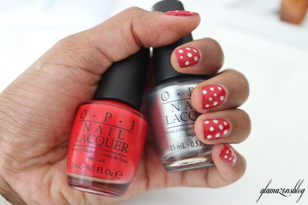 Coca Cola Opi Nail Polish Manicure Gls Blog