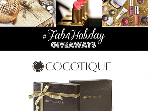 #Fab4Holiday Giveaway Day 2: Win a 3-Month Subscription to Cocotique