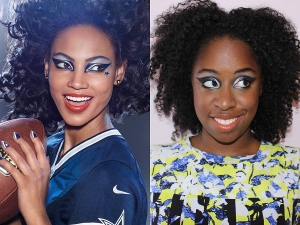 Exclusive: First Look at the New Covergirl x NFL Dallas Cowboys #GameFace Makeup
