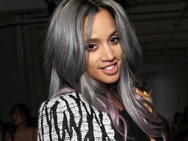 How To Get Dascha Polanco's Cool Gray Ombre Hair with Hairstylist Cynthia Alvarez