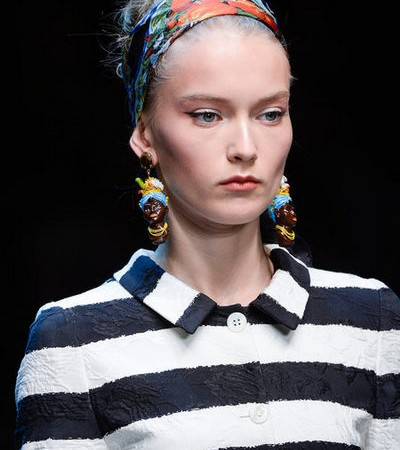 "Call The Glambulance: Dolce & Gabbana Sends ""Black Woman"" Earrings Down The Spring 2013 Runway"
