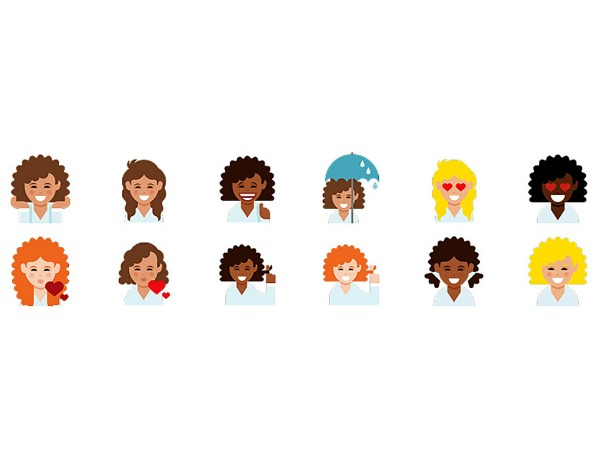 Currently Obsessed: @Dove #LoveYourCurls Emojis (PLUS How To Download Them)