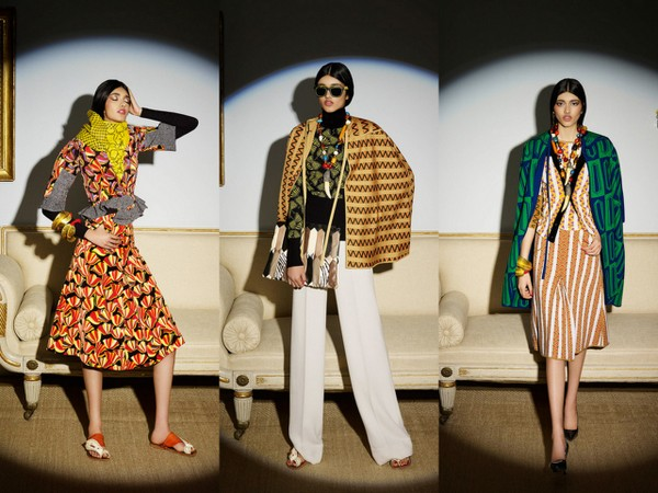 #LFW: Exotic Prints, Fur and Tinted Frames at Duro Olowu