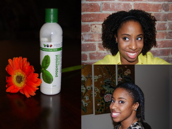 Try This: Eden Body Works Peppermint Tea Tree Hair Milk
