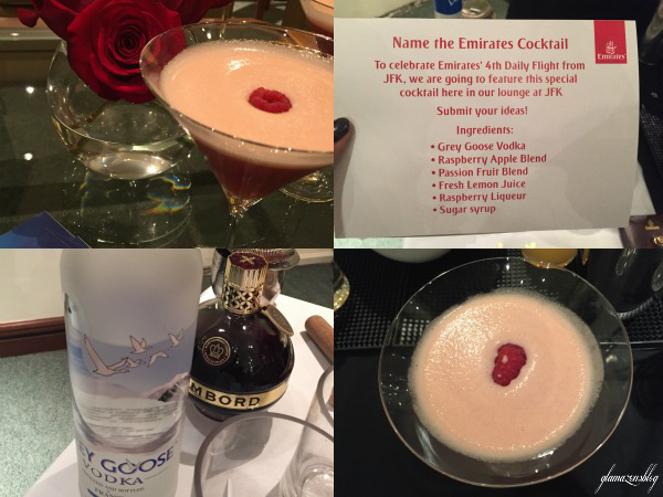 emirates-a380-dubai-flight-rasberry-passion-fruit-martini-zuma-mixologist-glamazons-blog