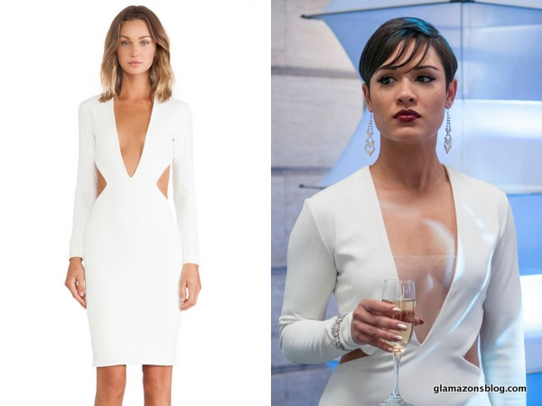 Empire Fashion Recap: Cookie's Gucci White Jumpsuit, Anika's Solace London White Cut-Out Dress