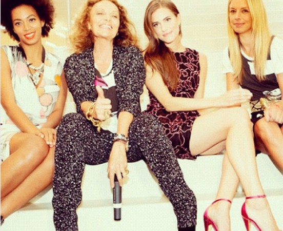 The 10 Best Instagram Photos from Fashion's Night Out 2012: Pharrell, Solange, Victoria Beckham and More!
