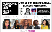 GLAM EVENTS: Join Us for the 2012 Fashion's Night Out Blogger Crawl Sponsored by Hello Beautiful! #FNOCrawl