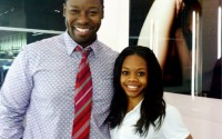 Two Snaps and a Circle: Gabby Douglas Gets Her Hair Laid by Ted Gibson