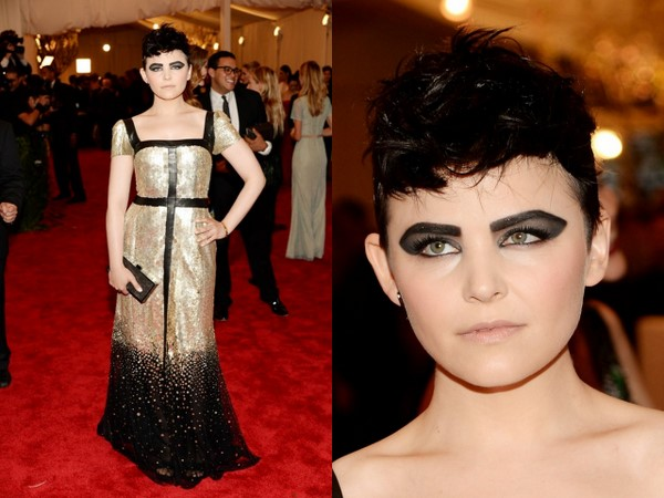 Get The Look: Ginnifer Goodwin's Edgy And Bold Makeup On The 2013 Met Gala Red Carpet