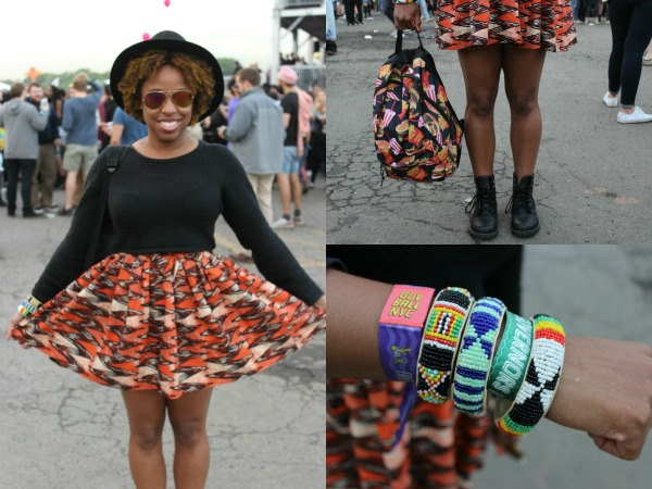 What I Wore: Orange We Cute for #GovBallNYC #OOTD @Dove #RevitalizeMe