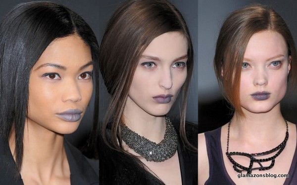 Would You Rock…Grey Lipstick?