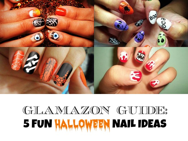 Glamazon Guide: 5 Fun Halloween Nail Ideas