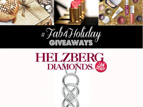 #Fab4Holiday Giveaway Day 7: Win a Helzberg Diamond Necklace!