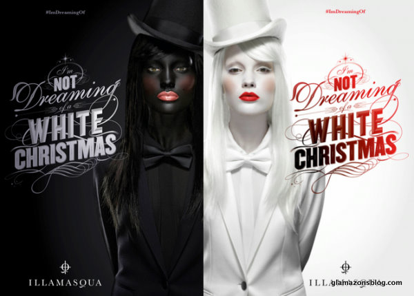 Call The Glambulance: Illamasqua Sparks Backlash with Blackface Holiday Ad