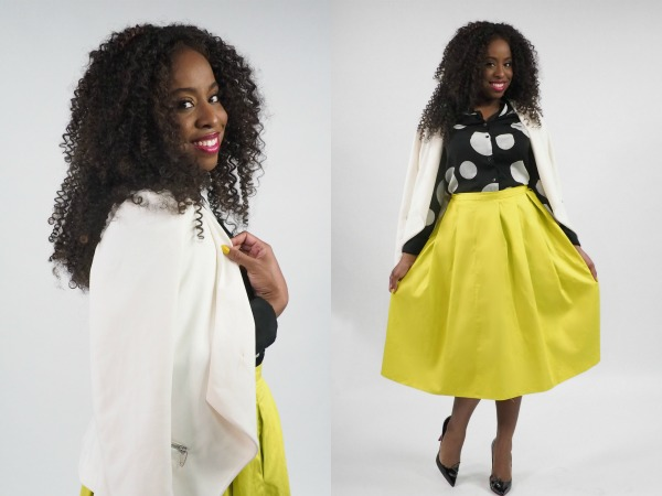 What I Wore: 1 Blazer, 3 Ways with @ImanCosmetics and Hello Beautiful