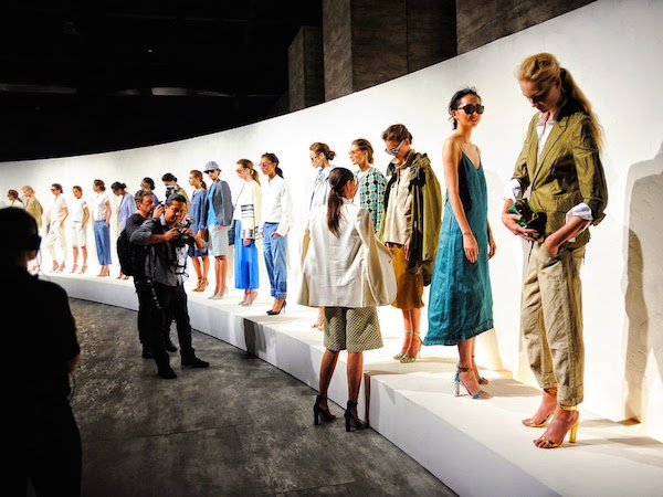 #NYFW: J. Crew Nails Casual Glamour for Spring 2015