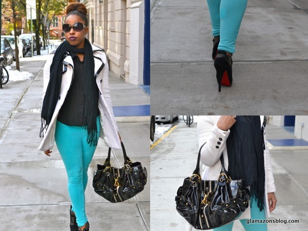 What I Wore: Winter Brights