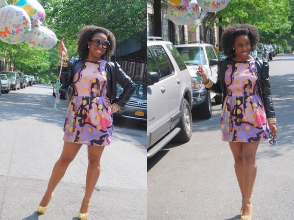 jessica-c-andrews-birthday-ASOS-BLACK-Tulip-Dress-Spot-Print-asos-round-sunglasses-pearl-highbrow-opener