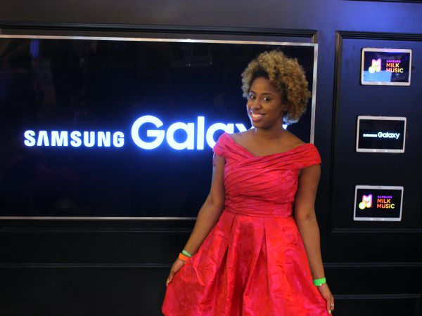 Celebs, Makeovers and More at the Samsung Galaxy Experience at #EssenceFest