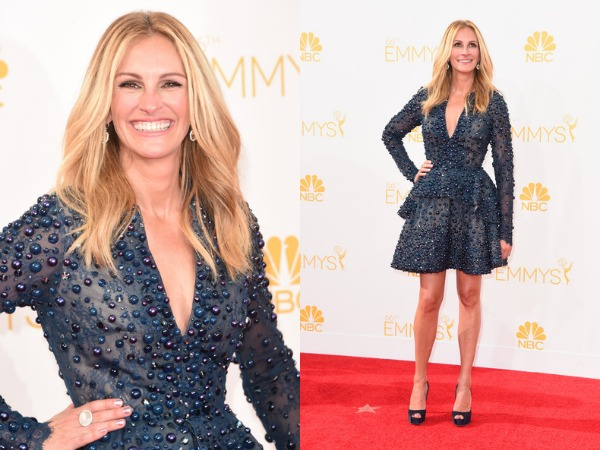 GET THE LOOK: Julia Roberts Lancôme Makeup At The 2014 #EMMYS