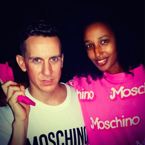julia-sarr-jamois-jeremy-scott-moschino-spring-2015-barbie-milan-fashion-week-glamazons-blog