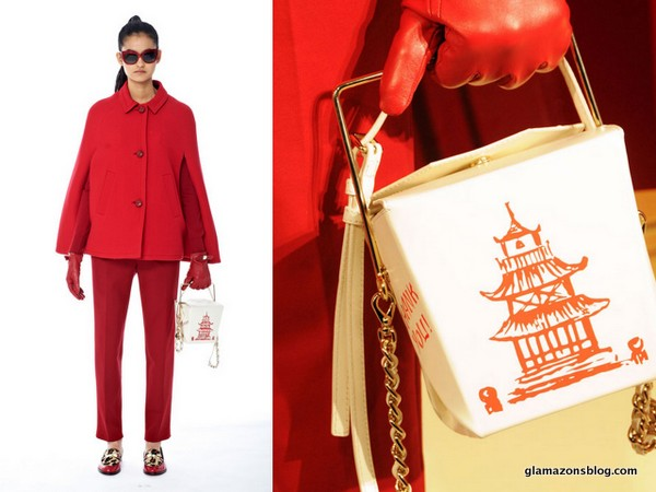 #NYFW: Let's Discuss This Chinese Takeout Bag at Kate Spade