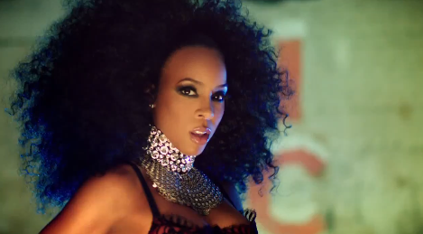 Get The Look: Kelly Rowland's Ice Video Smoky Eye Makeup!