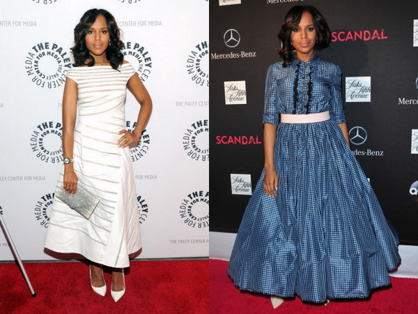 Get The Look: Kerry Washington's Radiant Glow and Sultry Smokey Eyes for Scandal Season 3 Promo Tour!