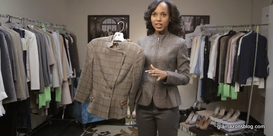 "VIDEO GLAM: Kerry Washington Goes Inside The ""Scandal"" Closet"