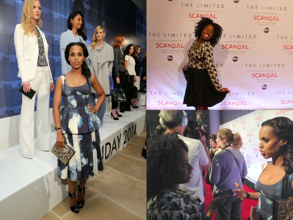 A Day in The Life: Scandal x The Limited Party with Kerry Washington #ScandalStyleTheLimited