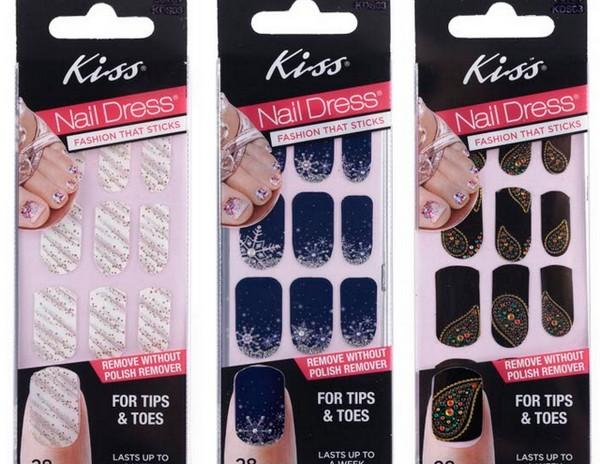 Limited Edition Holiday KISS Nail Dress
