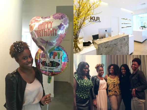 A Day in The Life: @KurSkinLab Spa Party for My Birthday @SpaWeek #SpaWeek