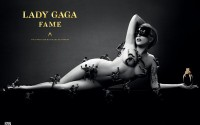 AD GLAM OR SHAM?: Lady Gaga Poses Naked and Covered in Little Men for Fame Perfume Ad