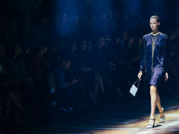 #PFW: Alber Elbaz Does Monochromatic Elegance for Spring 2015