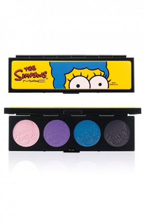 mac-the-SIMPSONS-EYESHADOW-QUAD-Marges-Extra Ingredients-glamazons-blog