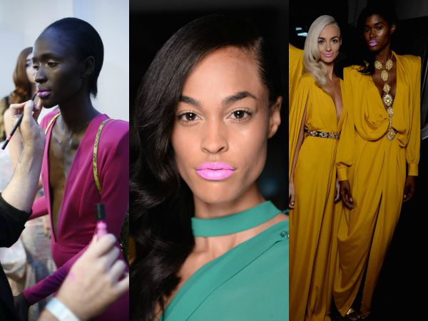 How-To: Icy Pink Lips On Every Skin Tone @MichaelCostello @Narsissist #NYFW