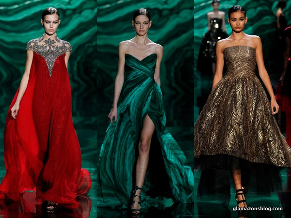 Glamazons, as usual designer Monique Lhuillier astonished us at New