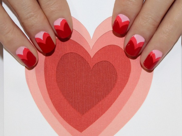 Try This: Cool, Non-Sappy Valentine's Day Nail Art from JINsoon