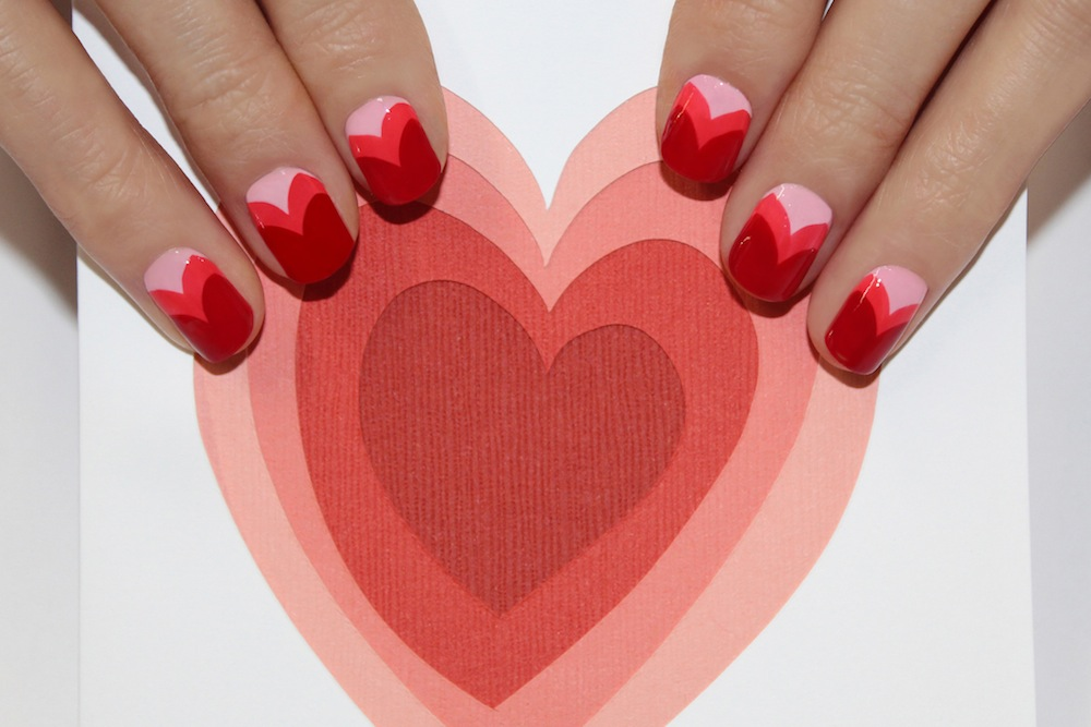 Valentine\'s Day Nail Art by JINsoon