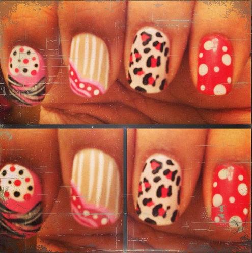 Spring Inspired Nails And Nail Art